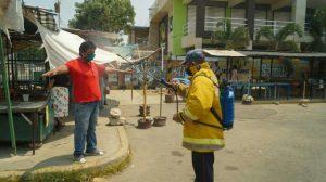 Ciudad Ojeda fortalece protocolo de bioseguridad en Mercado de Buhoneros