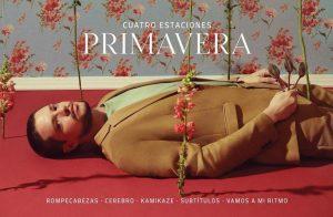 Lasso estrena «Primavera», sencillo su nuevo álbum «Cuatro estaciones»