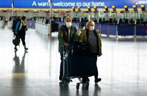 Reino Unido impondrá 14 días de cuarentena a viajeros, según asociación de aerolíneas británicas
