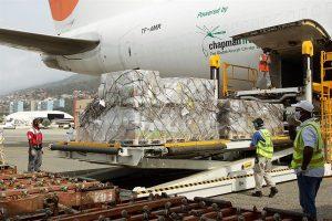 Arribó a Venezuela Avión cargado con suministros humanitarios