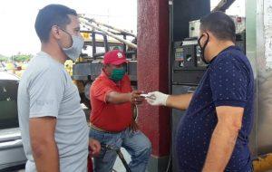 Alcalde Orlando Urdaneta supervisó el funcionamiento del Biopago en cada estación de servicio del municipio
