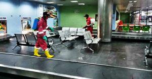 Aeropuerto Internacional «La Chinita» fue desinfectado por la Gobernación del Zulia