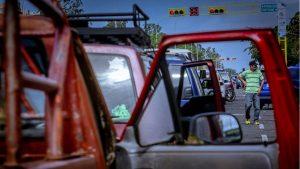 Estaciones de servicio para surtir gas vehicular en Guayana están colapsadas por falta de gasolina