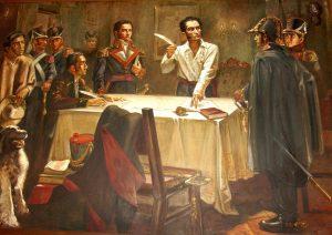 Simón Bolívar firma el Decreto de Guerra a Muerte, necesario para lograr nuestra independencia (1813)
