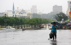 Lluvias de intensidad variable se esperan en el país este lunes 15 de junio