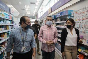 Alcalde Casanova supervisa medidas de prevención en comercios privados de Maracaibo