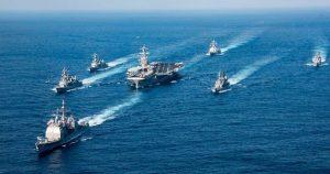 EEUU realiza maniobras militares justo en las puertas de China