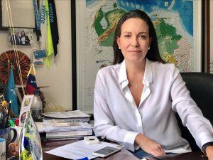 María Corina Machado: «Nosotros no podemos caer en las trampas del chavismo»