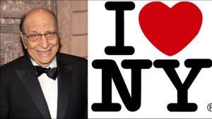 Falleció Milton Glaser, creador del logo de «I love NY»