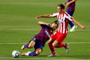 (#LaLiga) Barcelona deja escapar dos puntos ante el Atlético y se aleja del campeonato