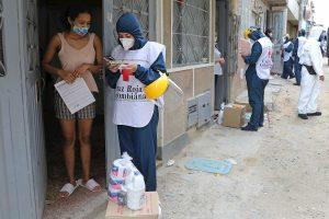 Colombia suma 1.604 nuevos contagios de coronavirus y acumula 43.682 casos