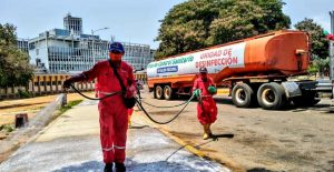 Hospital Universitario de Maracaibo fue desinfectado por la Gobernación del Estado Zulia