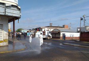 Reorganizan comercio en Lossada para prevenir propagación del COVID-19