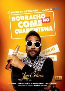 Leo Colina presenta su primer espectáculo en la plataforma Zoom