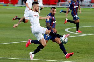El Sevilla deja dos puntos ante un Levante que no se rindió