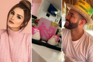 Nacho y Melany celebraron juntos su baby shower
