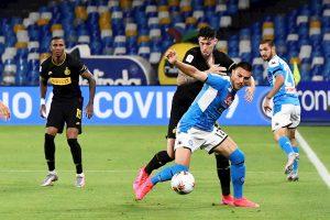 Napoli dejó en el camino al Inter y definirá al campeón de la Copa Italia ante la Juventus