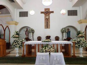 La iglesia Santa Mónica de la mano con el prójimo en tiempos de COVID-19