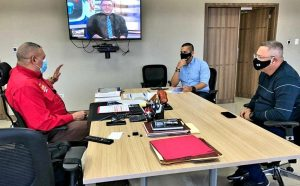 Omar Prieto y Leal Tellería fortalecen planes para garantizar la distribución de cajas y combos CLAP en el Zulia