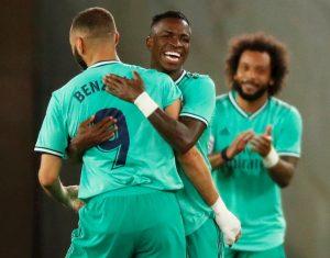 Real Madrid pasa al frente en la Liga con victoria sobre Real Sociedad