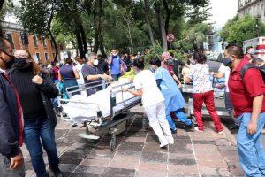 Terremoto de 7,5 grados estremeció a México