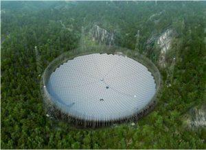 China intentara lanzar en septiembre 2020, el mayor telescopio del mundo, para buscar vida extraterrestre