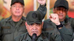 Padrino López a EE UU: «No se atreva a navegar con sus buques en nuestras aguas»