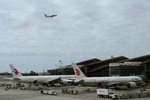 EEUU suspende los vuelos de aerolíneas chinas