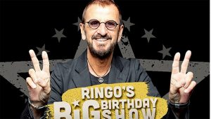 El gran «Ringo Star» celebra su cumpleaños 80, en un show virtual