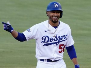 Mookie Betts firmó extensión de contrato con los Dodgers por 365 millones de dólares