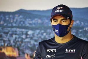 Sergio Pérez, primer piloto positivo por COVID-19 en la F1