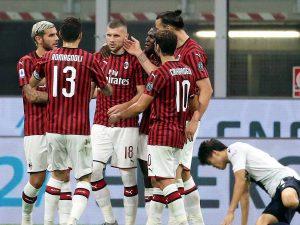 (#SerieA) Milán golea al Bolonia y se coloca a un punto de la Roma