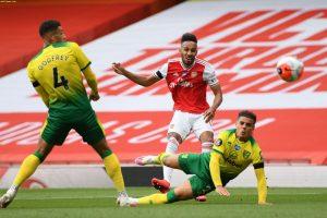 (#Premier) Aubameyang guía al Arsenal en su goleada al Norwich City