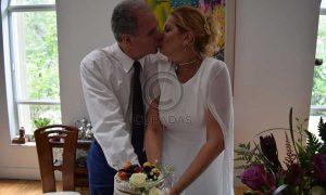 Publican fotos de la boda sorpresa de la actriz venezolana Belén Marrero