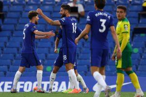 (#Premier) Chelsea derrota al Norwich con único tanto de Giroud
