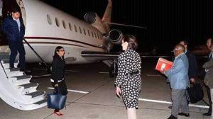 Como secreto oficial califican datos relacionados con el viaje de Delcy Rodríguez a España
