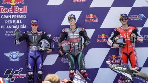 (#MotoGP) Gran Premio de Andalucía cabó con segunda victoria consecutiva para Quartararo