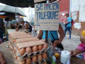 Sobrevivir a través del trueque una forma de sobrellevar la situación en Venezuela en tiempos de la COVID-19