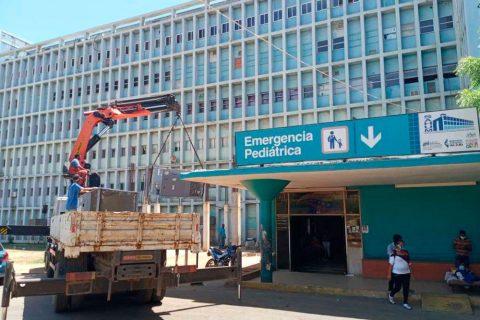 Ministerio de Salud supervisó funcionamiento del Hospital Universitario de Maracaibo