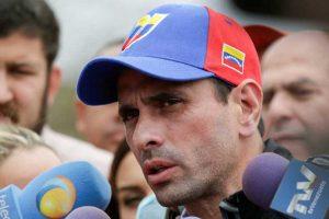 Capriles: «Es una locura hacer elecciones en plena pandemia»