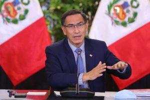 Presidente de Perú Vizcarra, convoca elecciones generales para abril de 2021