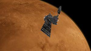 Descubren trazas de ozono y dióxido de carbono en la atmósfera de Marte
