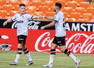 (#LaLiga) Kang-In Lee le da la victoria al Valencia sobre el final del partido