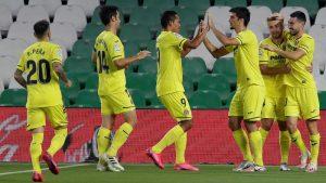 (#LaLiga) Villarreal amplia su racha de victorias ante el Betis