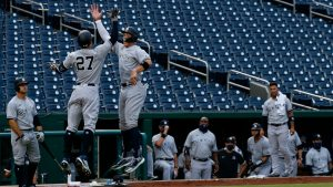 (#MLB) Yankees se impone al campeón en Washington