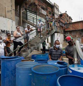 Leonardo DiCaprio: El 86 % de los venezolanos reportó no tener acceso a un servicio confiable de agua