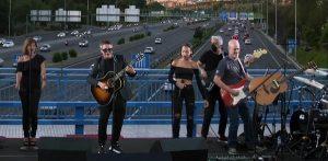 Alejandro Sanz, sorprendió con un concierto gratuito