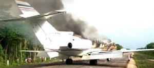INAC desmiente que avioneta siniestrada en México sea venezolana