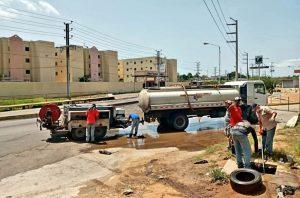 Realizaron mantenimiento a 1500 metros de colectores en Maracaibo y San Francisco