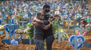 América Latina se conviertió en la segunda región del mundo con más muertos por COVID-19